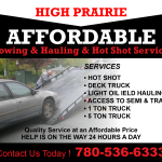 High Prairie Affordable Towing & Hauling