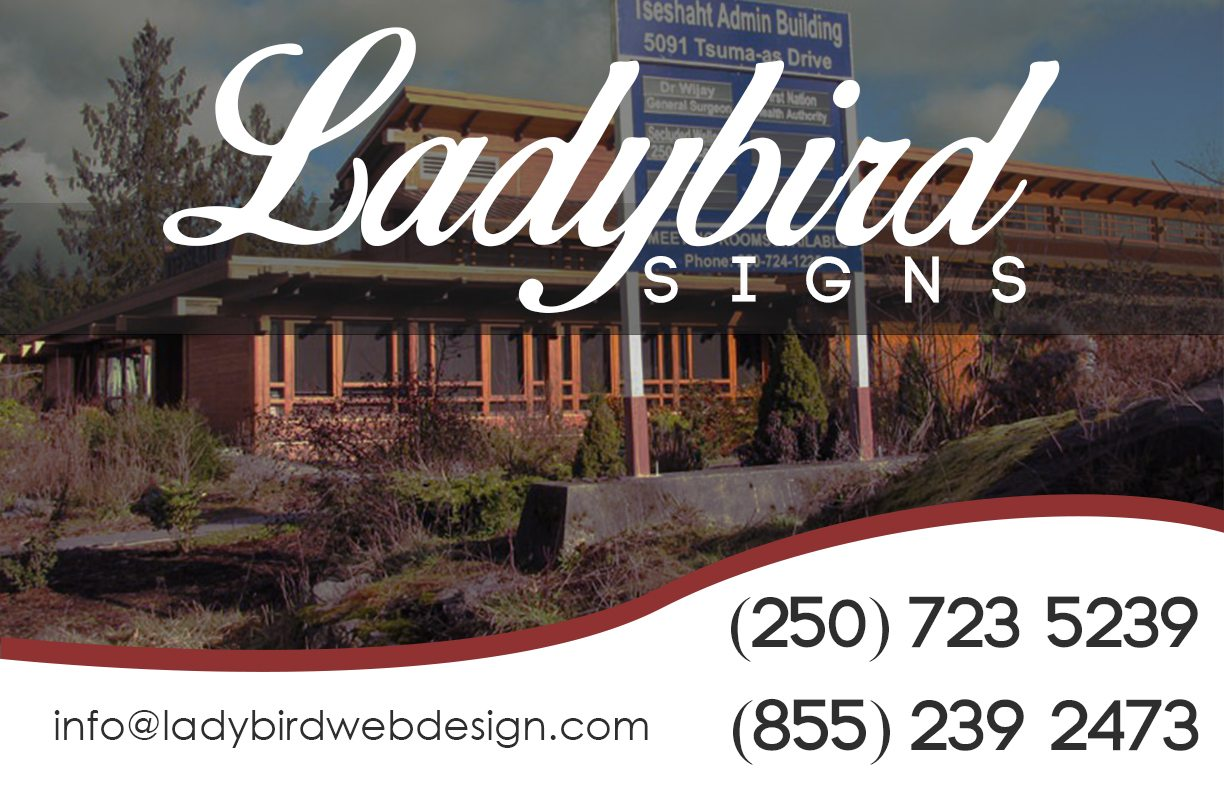 LadyBird Web Designs and Signs