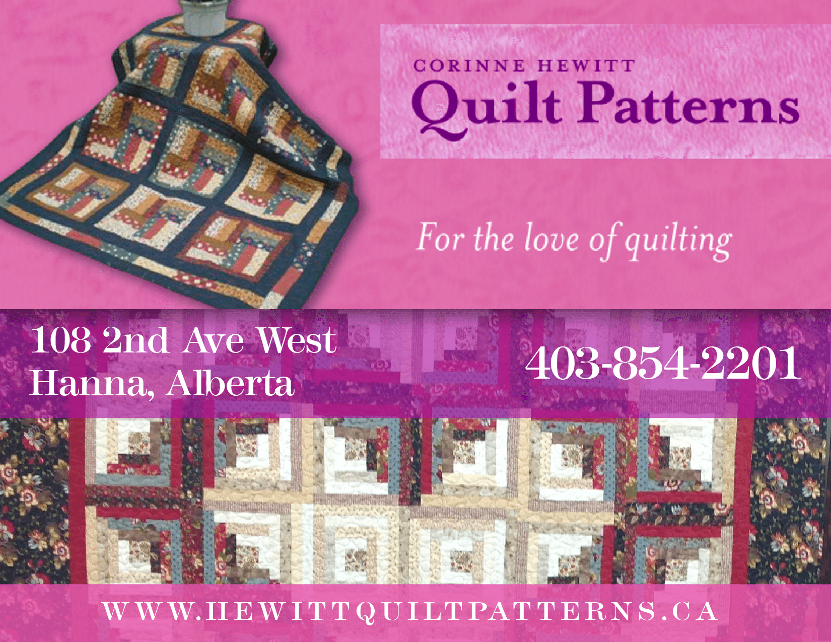 H. Corinne Hewitt Quilt Patterns & Fabrics