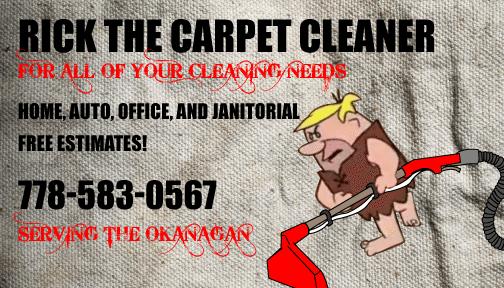 Rick the Carpet Cleaner
